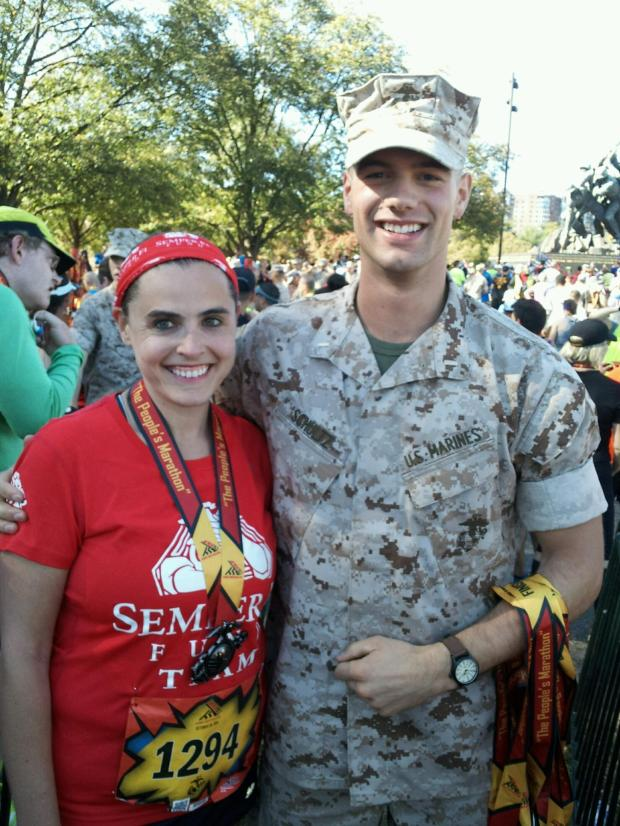 The Marine who gave me my medal